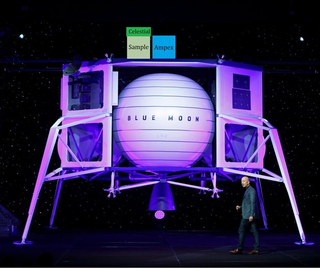 "Blue Origin-Lander ""Blue Moon"""