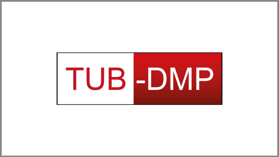 "Logo Datenmanagementplan ""TUB-DMP"""