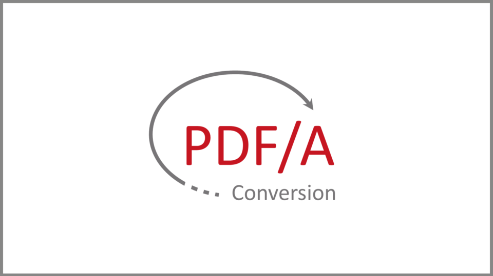 Logo PDFA Conversion