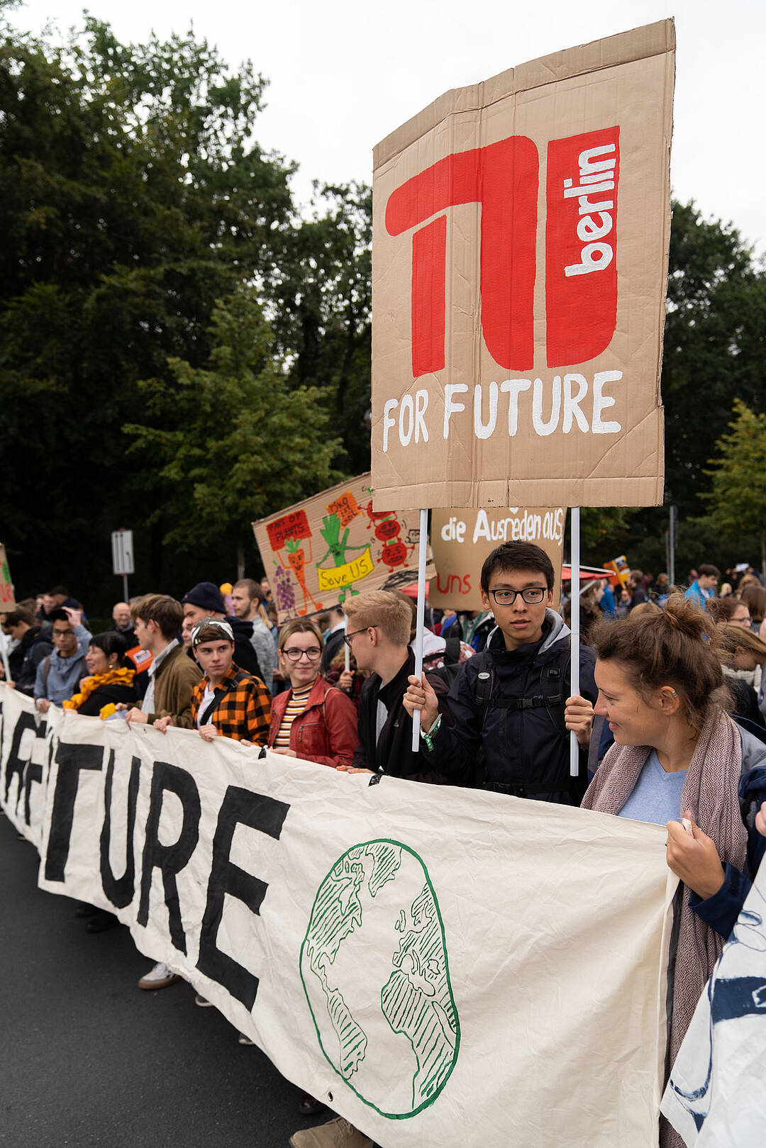 Fridays for Future Demo 20.09.2019, TU FOR FUTURE